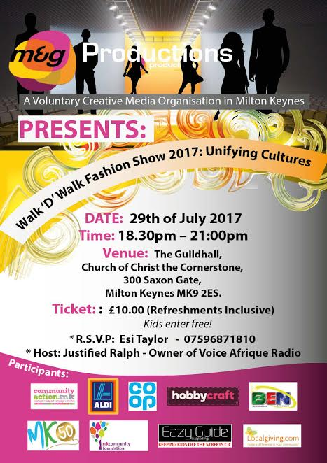 new leaflet for fashion show 2017